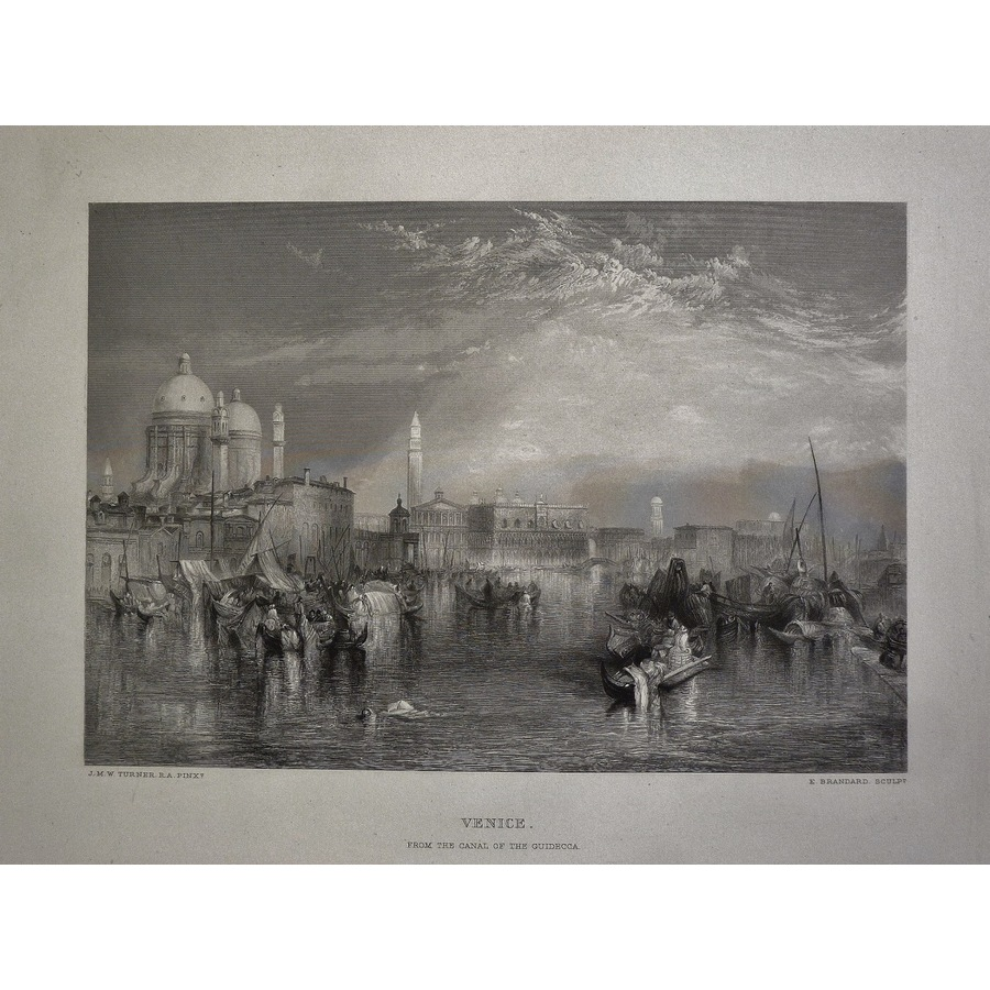 Venice - form the canal of th.   Storey's