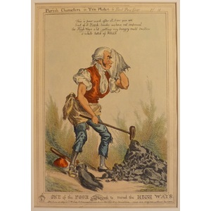 One of the poor employed to mend the high-ways - parish characters plate no. 10