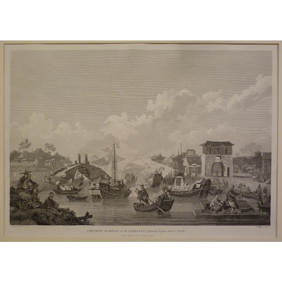 Chinese barges of the embassy. | Storey's