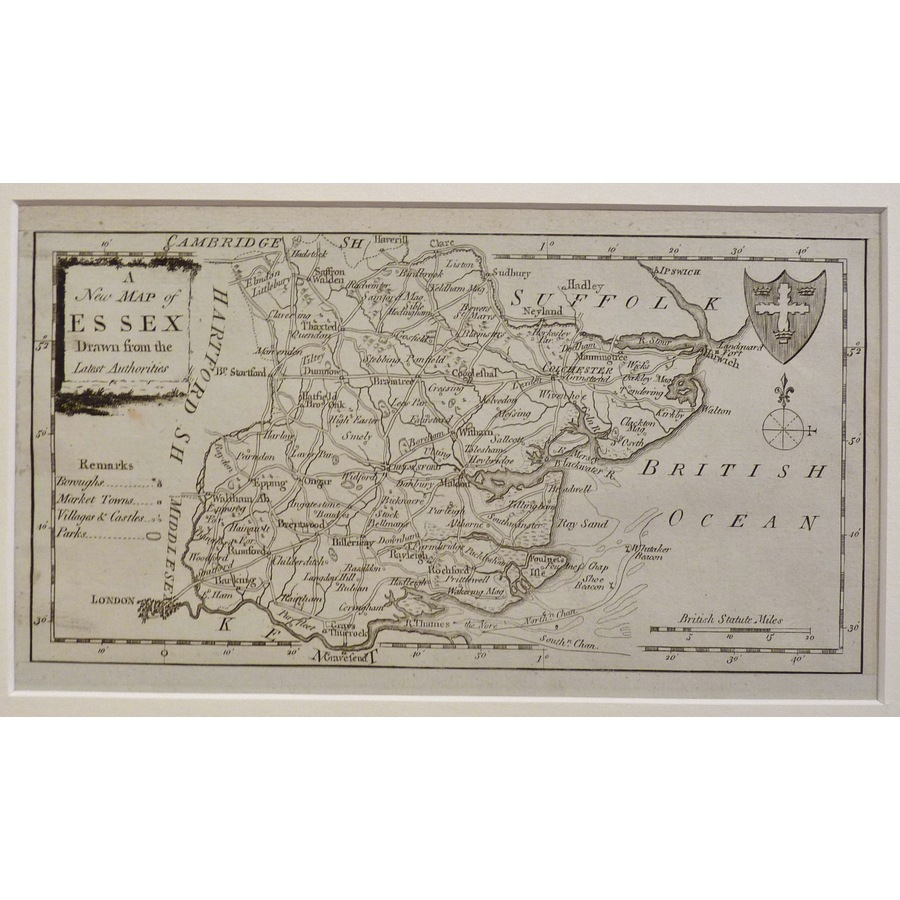 A new map of essex  | Storey's