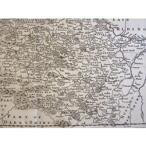 The West Riding of Yorkshire by Robert Morden, published 1695