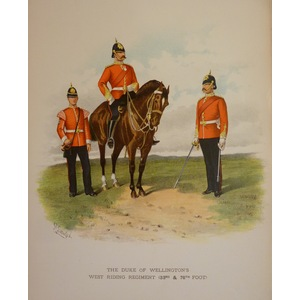 The duke of wellingtons west riding regiment (33rd & 76th foot)