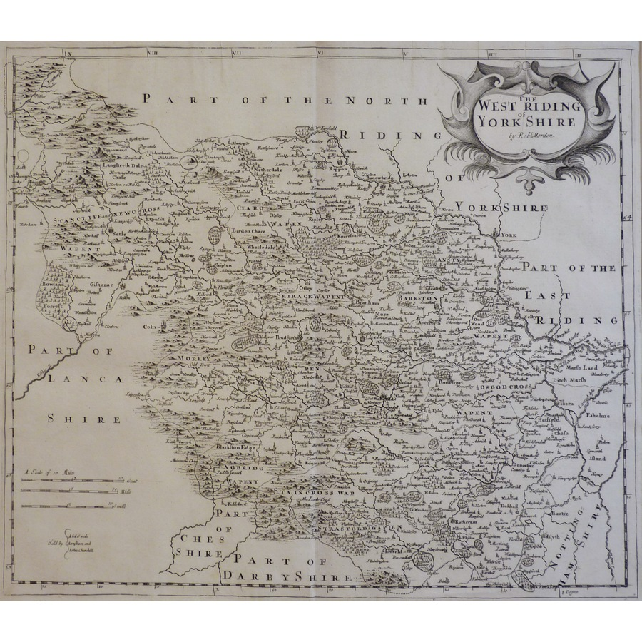 The West Riding of Yorkshire . | Storey's