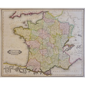 France in Provinces - Lizars, 1833