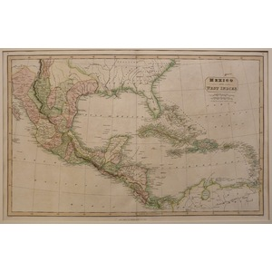 Mexico and west indies - c. Smith, 1826