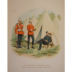 The prince of wales own west yorkshire regiment (14th foot)