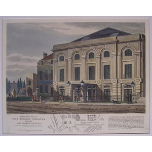 North east view of the surrey theatre formerly the royal circus