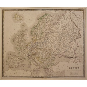 Europe - johnston, 1843