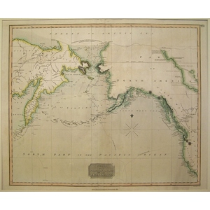 Chart of the Northern Passage between Asia and America - Thomson, 1816
