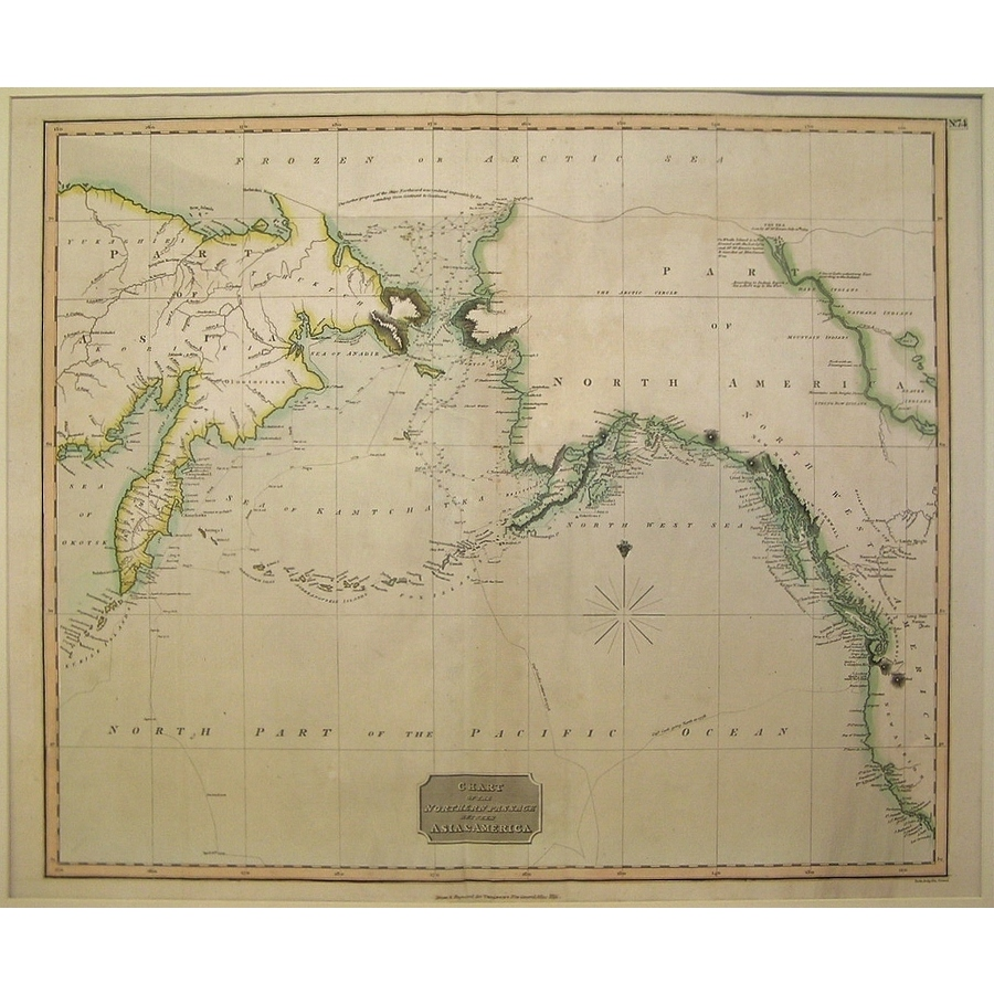Chart of the Northern Passage. | Storey's