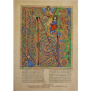 A bible of the 12th century