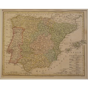 Spain and portugal - 1808 wilkinson