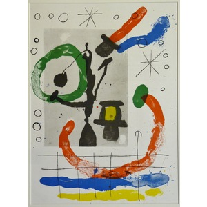 Carton no. 5 - Joan miro
