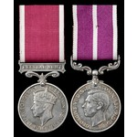 Regular Army Long Service and Army Meritorious Service Medal pair awarded to Warrant Officer 3rd ...