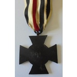 A German Honour Cross for Next of Kin with Award Document to Witwe Dora Neuwirth, dated Hannover ...