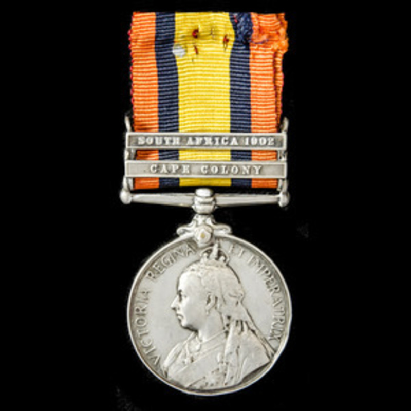 A Queen's South Africa Medal .   Wellington Auctions