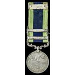 India General Service Medal 1908-35, two clasps: North West Frontier 1930-31, North West Frontier...