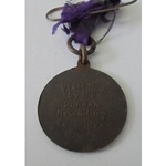 Durban (South Africa) Recruiting Committee Pro Patria Medal for World War One. Scarce.