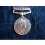General Service Medal 1918-62, Eliz II, clasp Cyprus named to 4178108 Aircraftman 1st Class A.E. ...
