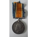 British War Medal named to 325 Private J. Whalley. Loyal North Lancashire Regiment. Dark toned, G...