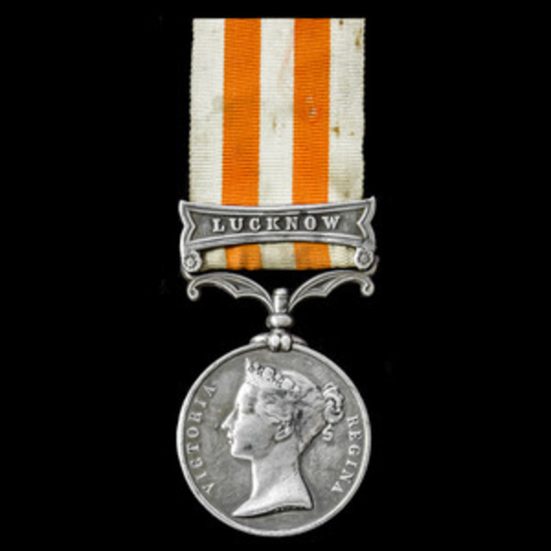 Indian Mutiny Medal 1857-1858.   Wellington Auctions