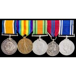 Great War Trawler Service, Second World War Civil Defence, Coronation 1953 and Police long servic...