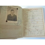 A German Wehrpass to Peter Drockenmiller who was present during the invasion of France, he was wo...