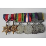 An interesting group of 6 medals awarded to Warrant Officer Class 2 (Battery Sergeant Major) L. M...