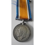 British War Medal named to 2253 Private P. Melville, Royal Scots. Later served with the Labour Co...