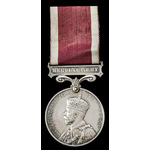 Regular Army Long Service and Good Conduct Medal, GVR Crowned head bust; (2714922 SJT. P. BURKE. ...
