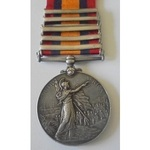 Queens South Africa Medal, five clasps, Cape Colony, Orange Free State, Transvaal, South Africa 1...