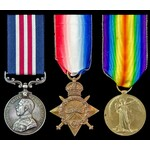 Great War First Day of the Battle of the Somme 1st July 1916 Casualty and Posthumous Military Med...
