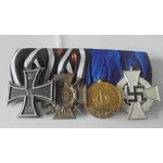 Germany. Imperial German Empire, Prussia and Third Reich: Group of 4 awards comprising: Iron Cros...