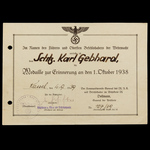 Germany - Third Reich: A very rare Russian Front Battle of Stalingrad Iron Cross 1st Class award ...