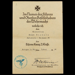 Germany - Third Reich: A very fine and scarce Entry into the Sudetenland 1938, Fall of France Iro...