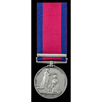 A scarce officer's Military General Service Medal 1793-1814, 1 Clasp: Corunna, awarded to Lieuten...