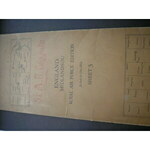 Original map ROYAL AIR FORCE edition, ENGLAND. Midlands (N). 1/4 inch to one mile. Sheet 5. For O...