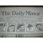 The Daily Mirror 17th April 1912 complete paper of the day, 8 pages on the sinking of the TITANIC...