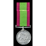 Afghanistan Medal 1878-1880, no clasp; (878. PTE: S. WARD. 2/8TH: REGT:) Samuel Ward saw service ...