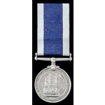 Royal Navy Long Service and Good Conduct Medal, GVI 2nd type bust; (PLY/X.1760 K. DIXON. CPL. R.M.)
