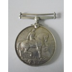 British War Medal named to S.S.102157 F.W. Davies, Stoker 1st Class, Royal Navy. Contacting to ri...