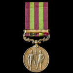 India General Service Medal 1895, Bronze issue, one clasp: Relief of Chitral 1895; (462 MULTR: IS...