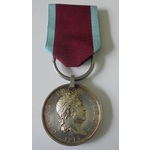 Hanoverian Medal for Waterloo, with original clip and ring suspension, officially impressed namin...