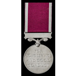 Regular Army Long Service and Good Conduct Medal, GVI 1st type bust; (T/17102 S.SJT. P.E. BOYLETT...