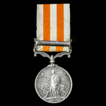 Indian Mutiny Medal 1857-1858, clasp: Lucknow, awarded to Sepoy Nanuckram, Regiment of Loodianah ...