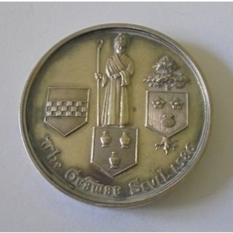 Silver School Medal. Probably. | Wellington Auctions
