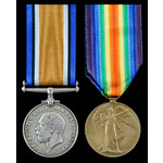 Great War Lonsdale Battalion Officer's pair awarded to 2nd Lieutenant O.W. Hope, 7th (Westmorelan...