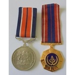 South Africa. Pro Patria Campaign Service Medal No.197378.South African General Service Medal No....