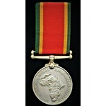 Africa Service Medal 39-45 (C303807 C.E. Mitchell.). About extremely fine