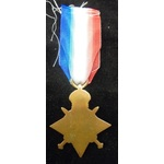 1914-15 Star named (9711 SGT A. BUTTLE. SUFF. R.)